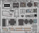 B-25J Mitchell Photo Etch Forward Interior Details for HK Model モデル kit (1/32 model kit accessory Eduard 32747)