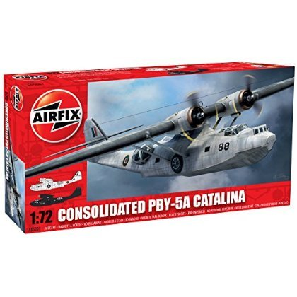 Airfix A05007 1:72 Scale Consolidated PBY-5A Catalina Military Aircraft Classic Kit Series 5